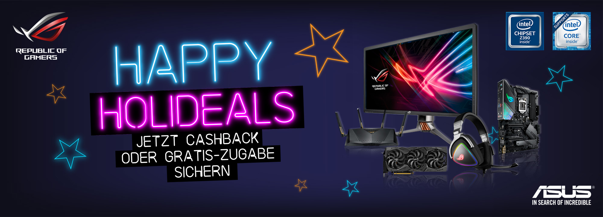 ASUS Happy Holideals 2018