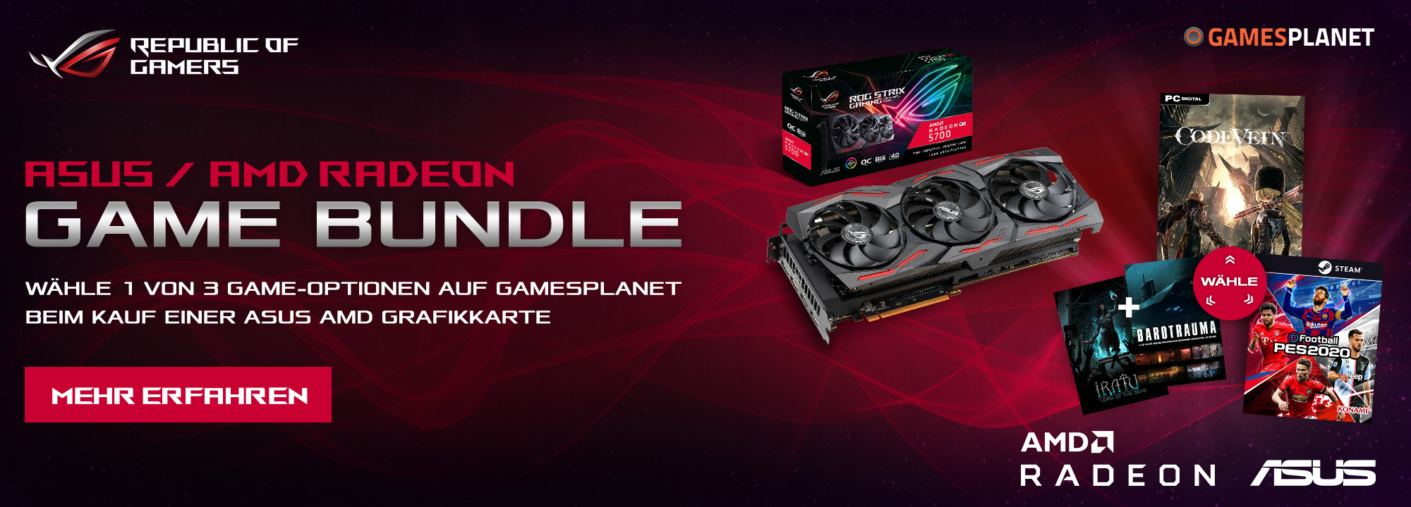 Radeon Bundle - Games gratis