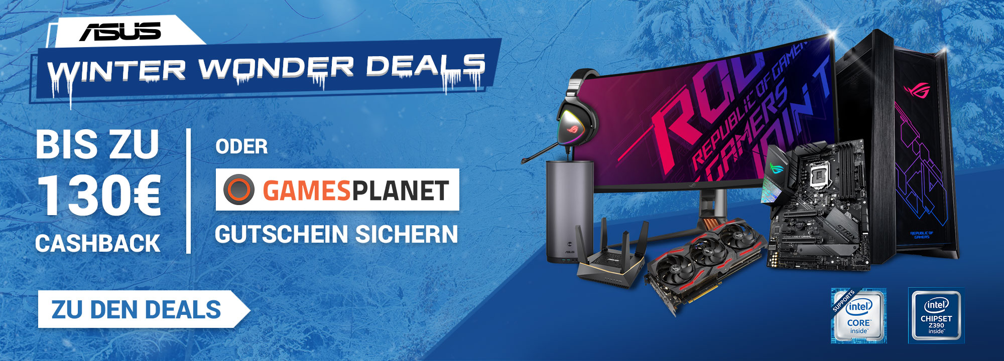 ASUS Winter Wonder Deals 2019/2020