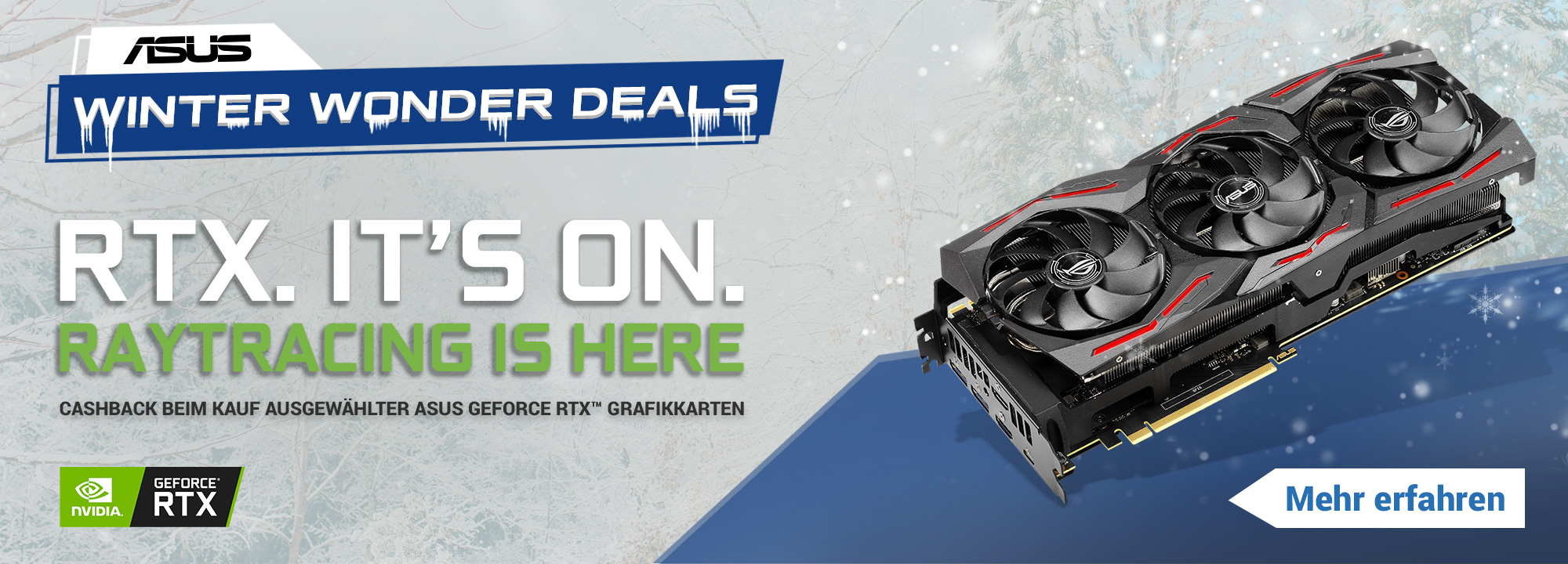 ASUS Winter Wonder Deals 2019/2020 (RTX)