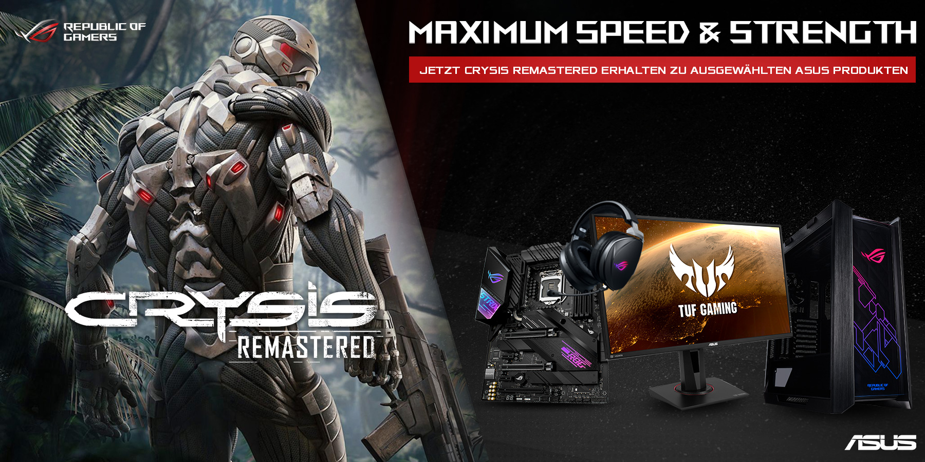 Crysis Remastered Promotion
