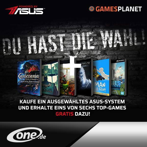 One.de und PBA Games-Aktion Blitzpromo